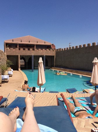 Kasbah Le Mirage: The pool