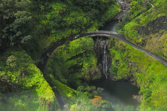 Road To Hana From Air Maui Helicopter39s View  Picture Of Air Maui Kah