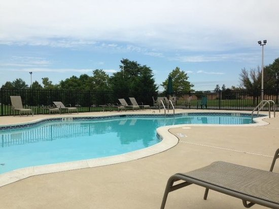 Pool Picture Of Clarion Hotel The Belle New Castle Tripadvisor