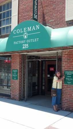 Coleman Museum and Factory Outlet