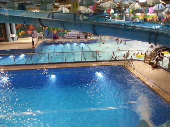 Water Play Structure And Water Slides Picture Of Village