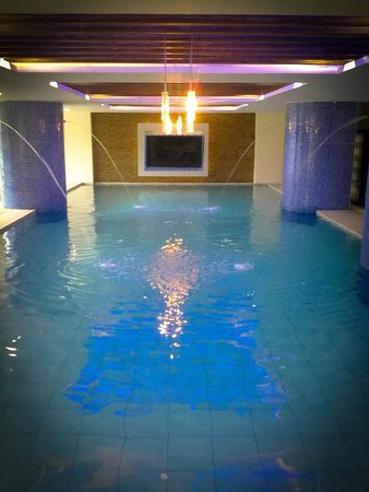 Indoor Swimming Pool Picture Of Icon Hotel North Edsa