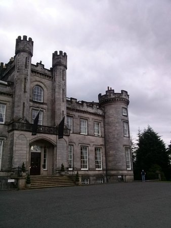 Stay in a tower room picture of airth castle hotel for Stay in a haunted castle in scotland
