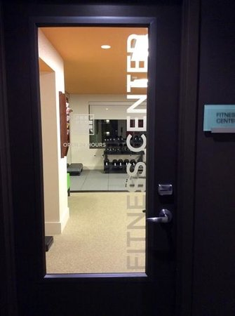 The Alexander: Very clean Fitness Center