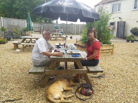 Melton Constable, UK: dogs very welcome