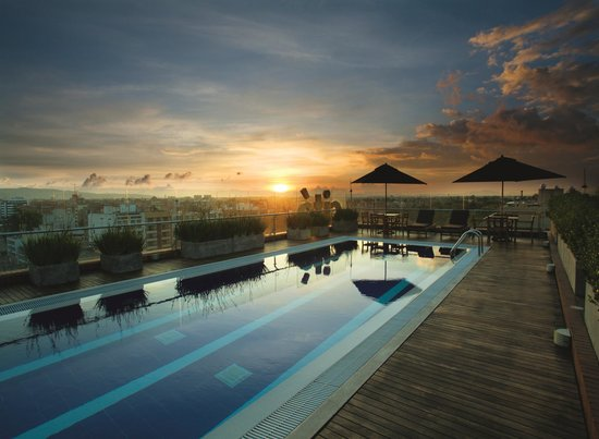 Cite Hotel: rooftop pool