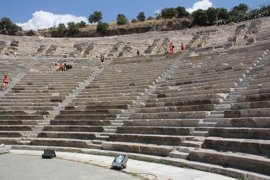 théâtre dhalicarnasse - Picture of Bodrum Amphitheater, Bodrum City - Tr...