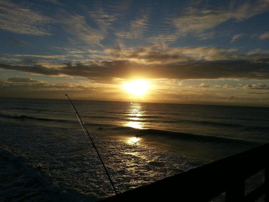 Beautiful beach picture of surf city pier surf city for Surf city pier fishing report