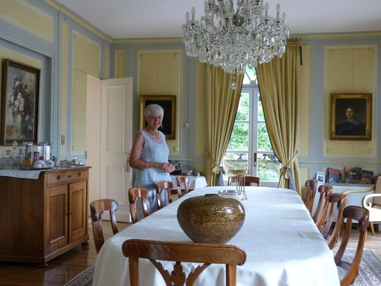 Salle manger et table d 39 h te photo de chateau d for Chateau d ax table de salle a manger