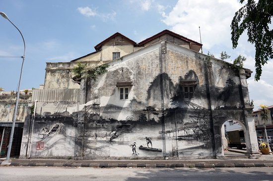 Ipoh wall art picture of art of oldtown ipoh tripadvisor for 7 mural ipoh