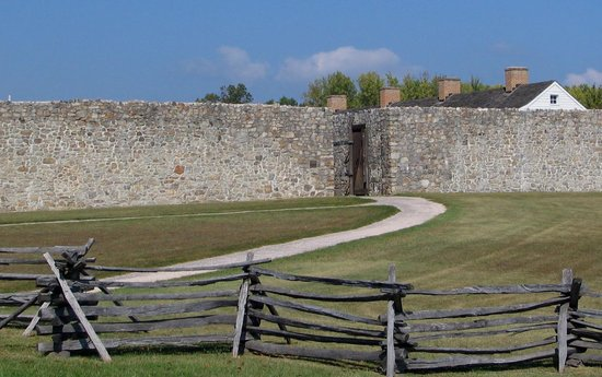 entrance to fort frederick  Picture of Fort Frederick State Park, Big