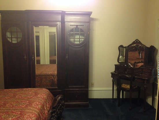 Chateau Orleans: armoire and vanity