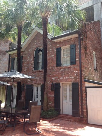 Chateau Orleans: our townhouse (LSU)