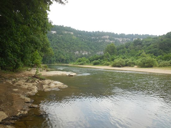 Whitaker point picture of buffalo river arkansas for Whitakers fishing report