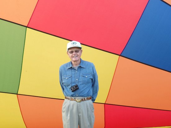 WindDancer Balloon Promotions: Grandpapa fulfilling a dream