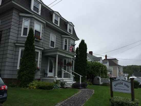 Bayside Inn Bed and Breakfast: Vue Maison