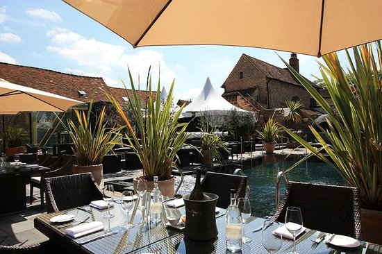 Terrace picture of the crazy bear beaconsfield english for English terrace