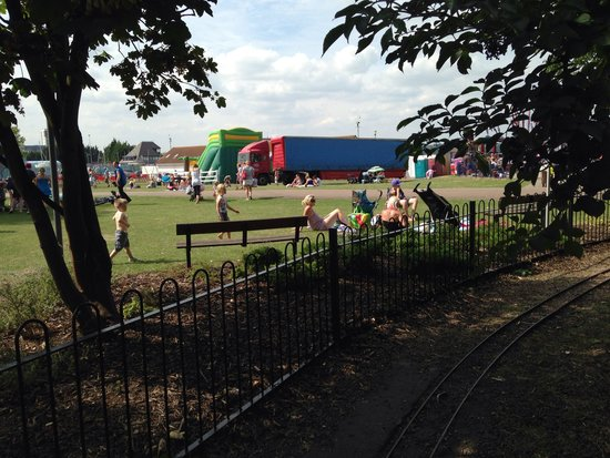 Miniature railway at the strand picture of the strand - The strand swimming pool gillingham ...