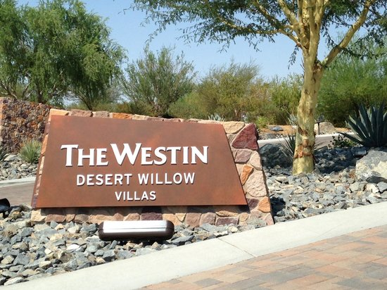 the entrance to westin desert willow villas picture of atlantis harborside resort floor plans free home design