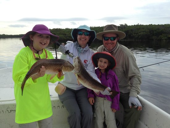 Nice redfish on fly picture of florida fishing for Fly girl fishing charters