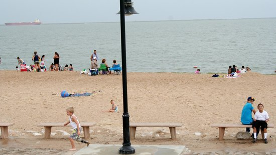 Restful day picture of sylvan beach park la porte for Attractions in la porte tx