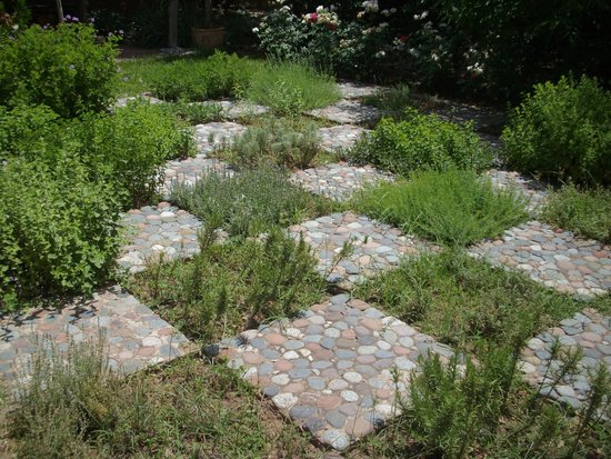 Pavers picture of jardin bio aromatique nectarome for Jardin aromatique