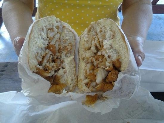 Fish all the way picture of bantam chef bunnell for Who has the best fish sandwich