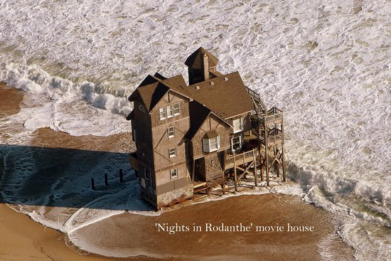 Nights In Rodanthe House Taken By Coastal Helicopters