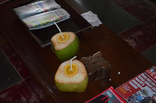 Welcome drinks picture of kovalam kerala tripadvisor for Absolute bliss salon and retreat