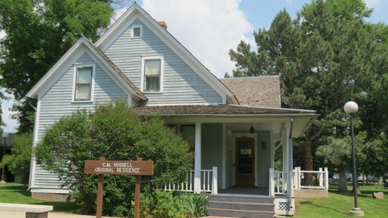 C.M. Russell Museum: The Russell home built in 1900