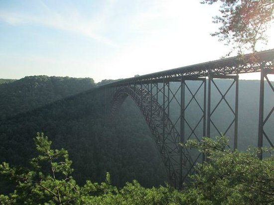 New River Gorge Bridge: the bridge