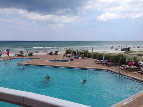 pool picture of hyatt place daytona beach oceanfront. Black Bedroom Furniture Sets. Home Design Ideas