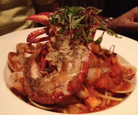 Half Lobster Tail W Spaghetti Picture Of Zocca Cuisine D