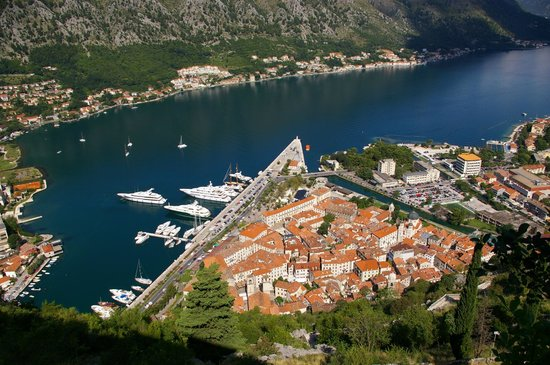 Kotor's Castle Of San Giovanni