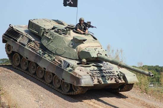 Leopard 1 Main Battle Tank During The Show Picture Of