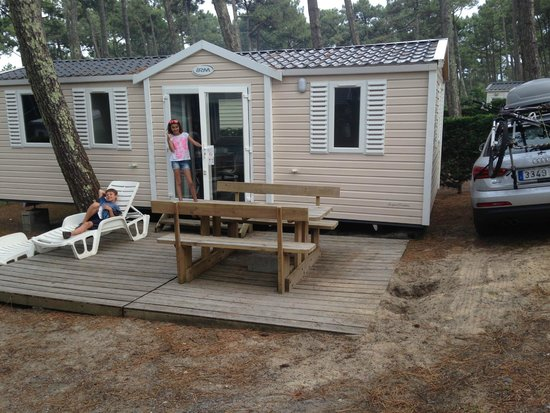 Mobile home picture of camping le vieux port messanges - Camping le vieux port plage sud 40660 messanges france ...