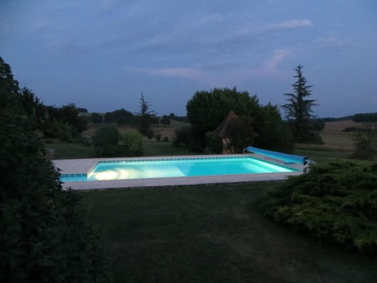 Bourniquel, France: Pool view from The Cottage