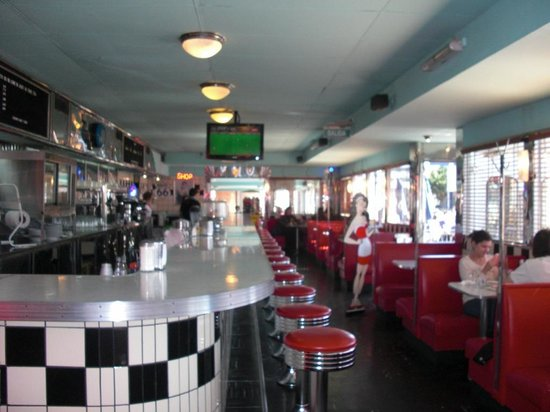 Classic decor picture of trixie american diner buenos for American classic diner