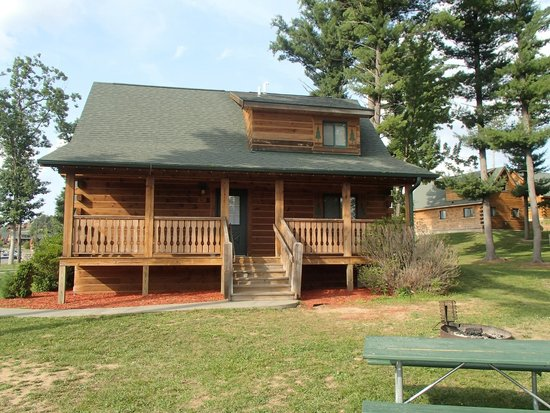 Three Bears Lodge: our cabin