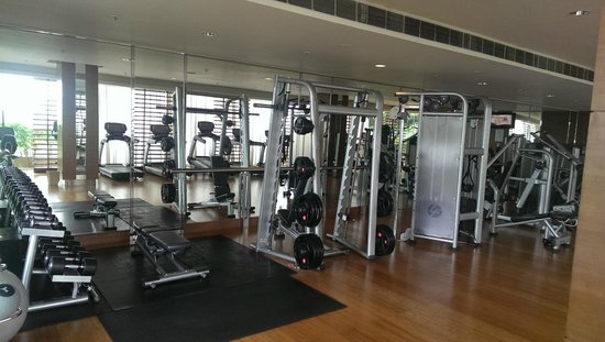 Top notch gym picture of jw marriott hotel pune