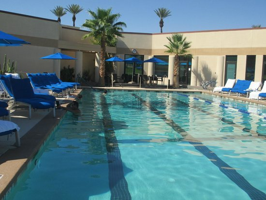 Marriott's Desert Springs Villas I: The pool at the spa….the best!