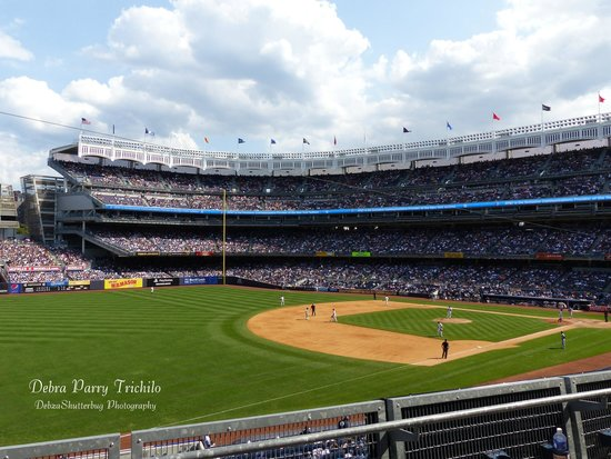 Yankee stadium photo view from section 228 row 3 seats 19 and 20