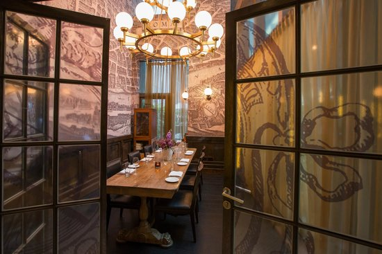 Private dining room picture of lupa by mario batali for Best private dining rooms hong kong