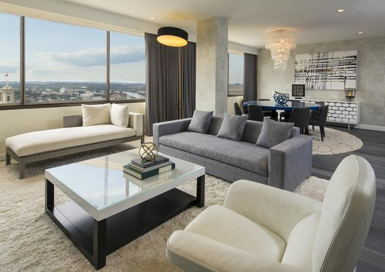 Presidential Suite Living Area Picture Of Sheraton Nashville Downtown Hotel Nashville