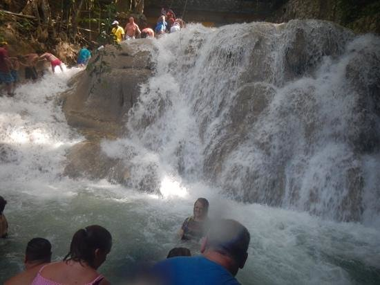 Dunn's River Falls and Park: not for the faint hearted!