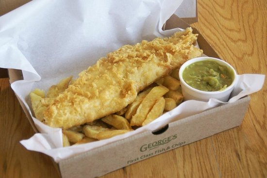 takeaway picture of georges tradition fish and chips On fish and chips takeaway