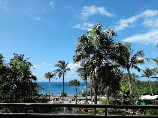 Caesar Park Hotel Kenting: View from Hotel Lobby