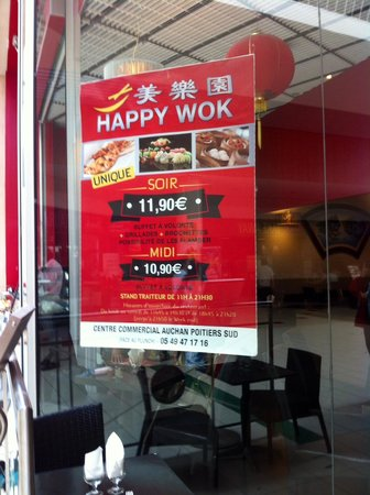 les propositions picture of happy wok poitiers. Black Bedroom Furniture Sets. Home Design Ideas