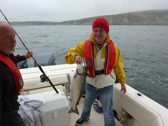 Captain eric picture of north bay charters bodega bay for Bodega bay fishing charters