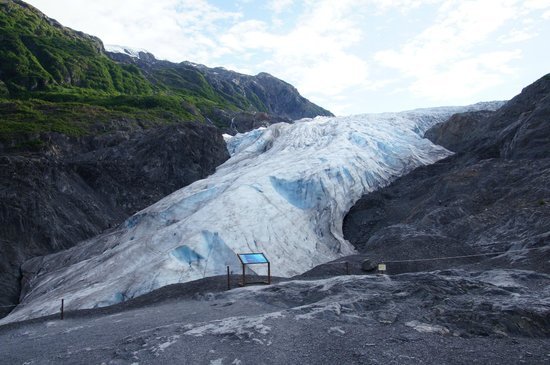 how tall is exit glacier